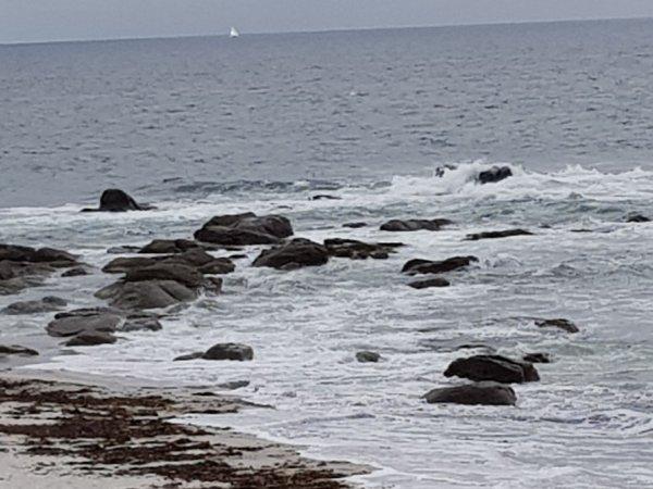 samedi 12 mai  Beg Meil des vagues