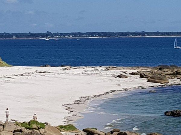 vendredi 2 juin  Beg Meil ...la mer bleue comme la méditerranée