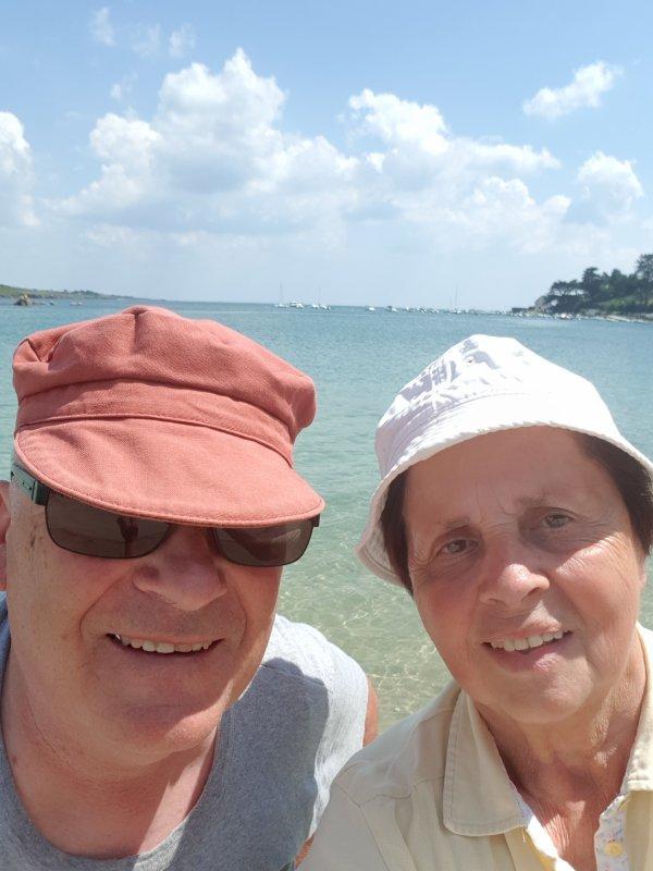 Port Manech 12 juin (plage et port de plaisance)+ Kerdruc