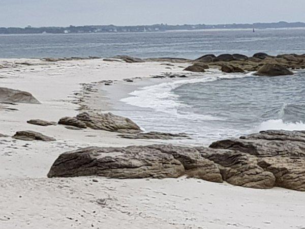 jeudi 14 juin Beg meil  et gros coefficient de marée.