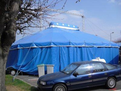 Cirque Melvin de la famille Massardier 4/5 avril 2009 épinay sur orge