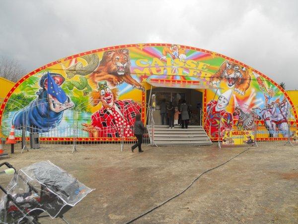 Cirque Muller à Chilly-Mazarin (91) du 05 au 13 Février 2011