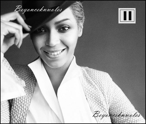 Je fais pose à mon blog et Beyoncé aussi !