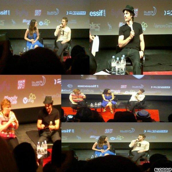 ARTICLE 14 | Nina et Ian à Paris + Ian, Torrey et Paul Wesley à la convention de Paris ( photo/ vidéo ) + Paul et Torrey à Paris