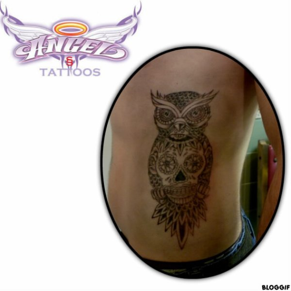 HIBOU ANGEL'sTATTOOS