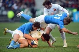 FRANCE  /  ITALIE  = 04/02/2012  tournoi des 6 nations