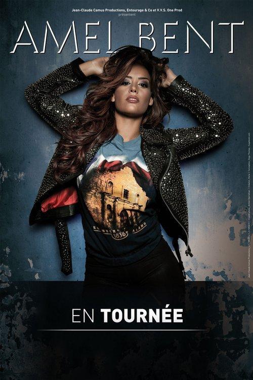 Amel Bent en concert à La Palestre le 13 mars 2014