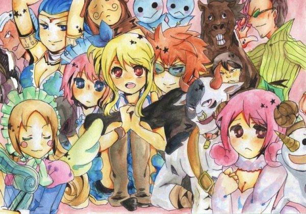 Lucy et la famille des esprits