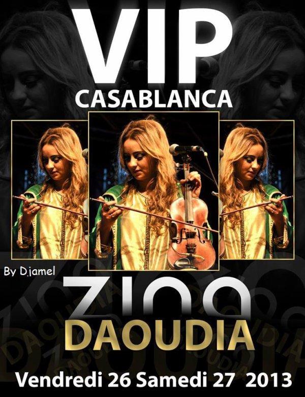 Retrouver la star de la chanson populaire zina daoudia Au Clup Vip Le : vendredi 26 et le samedi 27 juillet