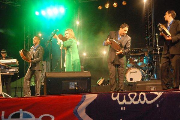 Cheba Maria et Zina Daoudia Festival Oujda international Du Rai 2013