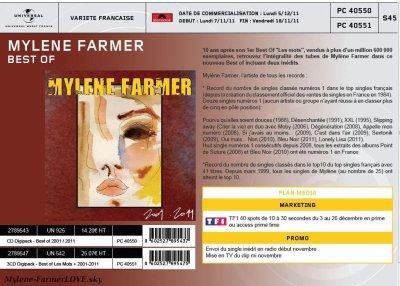 NOUVELLE OFFICIEL : MYLENE FARMER