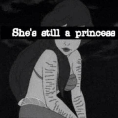 She's still a princess.