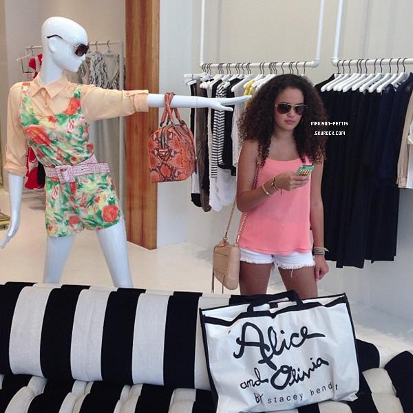 des nouvelles photos personnel de madison allant faire les boutiques du 4 mai 2013