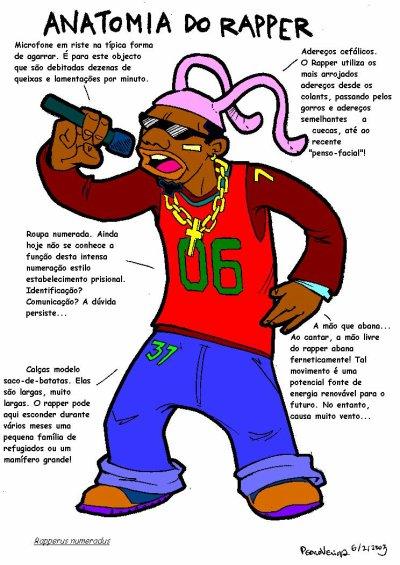 Três estilos, escolhe o teu: beto, chunga  ou rapper/gangster/dread!!!