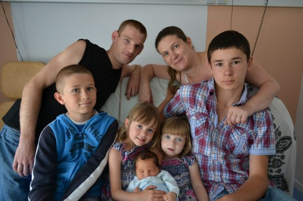 Ma petite famille au complet