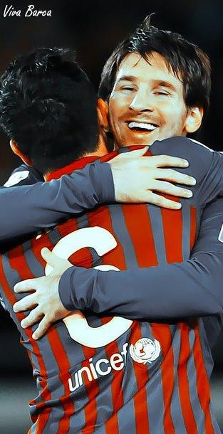 Xavi & Messi