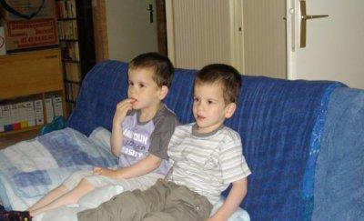 Quelques clichés de cet été avec nos petits-fils