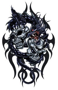 Dragon Tribal Tatouage tatouage dragon tribal - blog de geoffrey788
