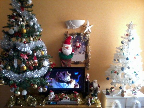 debut des decorations... j'ai encore fait des folies!