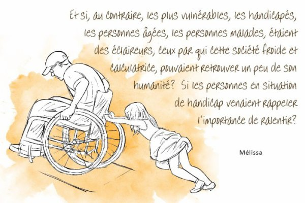 Handicap, regard et résilience en citations
