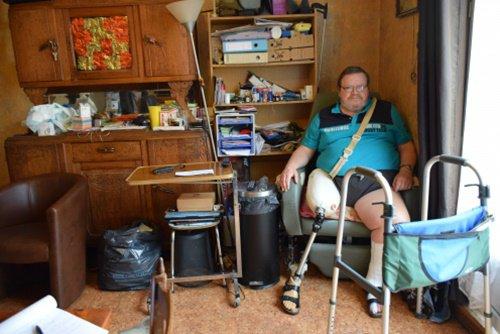 La Madeleine : Bruno Nutten, locataire handicapé, «dans une prison sans barreaux»