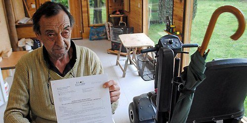 Gard Rhodanien : un retraité handicapé, en colère contre l'ADMR