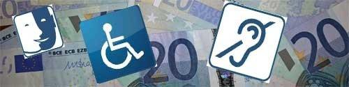 808,46 : 81 centimes de plus pour l'AAH au 1er avril 2016
