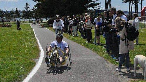 « Etre handicapé et faire du sport c'est possible ! »