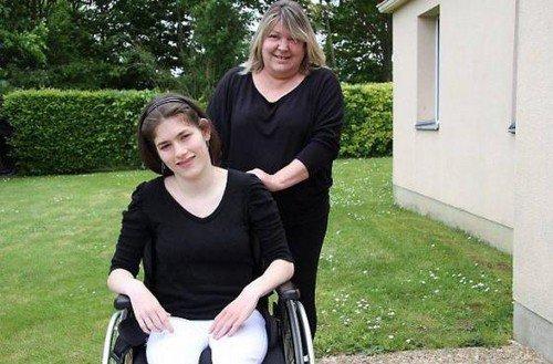 Marine, 20 ans et handicapée, lance un appel aux dons