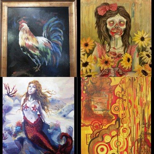 Handicapée des deux mains, elle réalise son rêve de devenir artiste