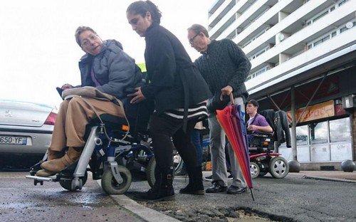 Dans la peau d'un handicapé