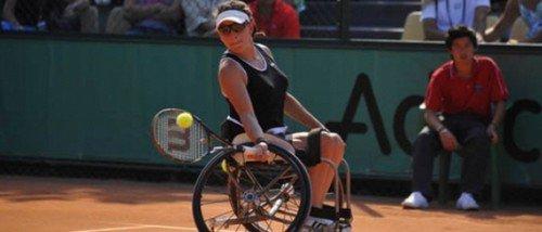 Le tennis en fauteuil