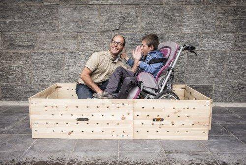 Malonne : son projet de lit adapté pour enfant handicapé reçoit un prix
