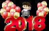 Meilleurs v½ux pour 2018