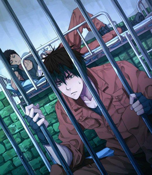 Hiro et Ren en prison x)
