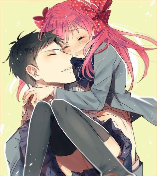 Darren et sa fille ~