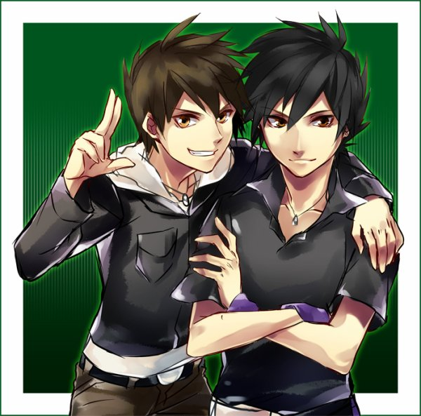 Ezra et Gale Clarks.