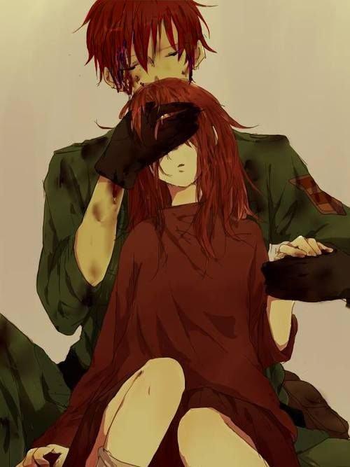 Akane et son taré de frangin.
