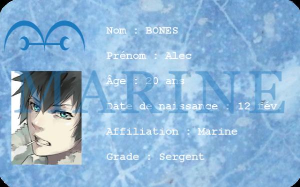 [CARTE D'IDENTITÉ] Alec