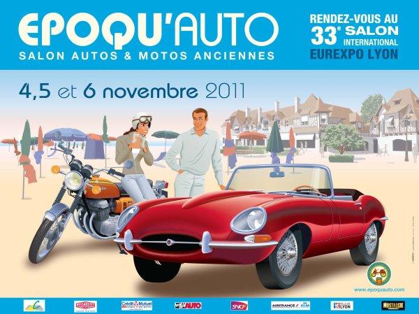Salon Epoqu'Auto à Lyon (69) les 4, 5 & 6 novembre 2011