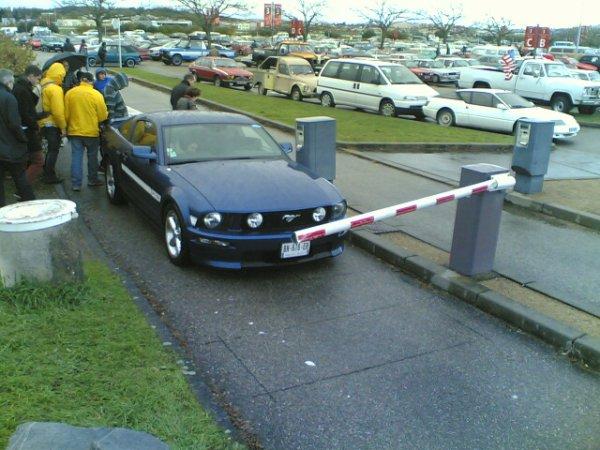 Epoq'auto 2013 Le parking extérieur