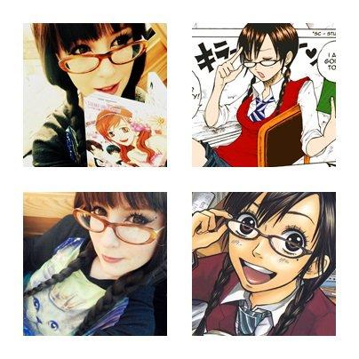my cosplay face ! (yankee kun to megane chan ; skip beat mogami kyoko , kyary pamyupamyu)