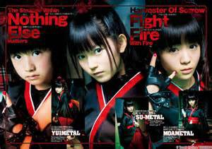 BABY METAL LINNE UP DISCOGRAPHIE DU GROUPE