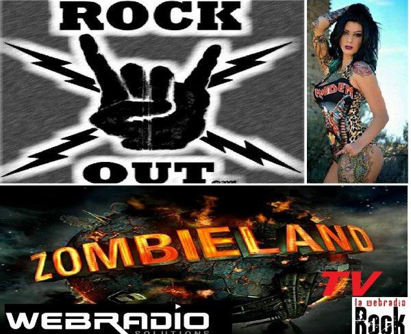 DJ XU EN LIVE METAL SUR ZOMBIE LAND TV  AVEC CREPOZOIDES LE MORBIDES