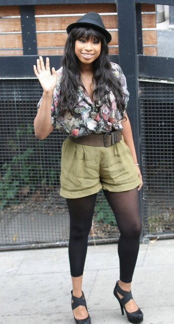 Jennifer Hudson affiche sa taille de guêpe