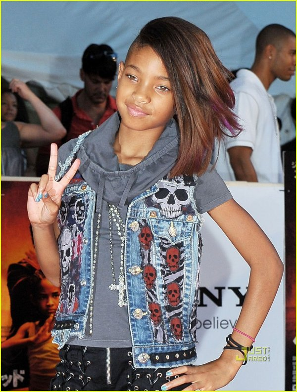 Fabuleux willow smith star a 10 ans - willow smith TR67