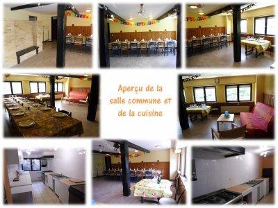 Location Gite de Groupe + Salle  Fête de famille Anniversaire Alsace