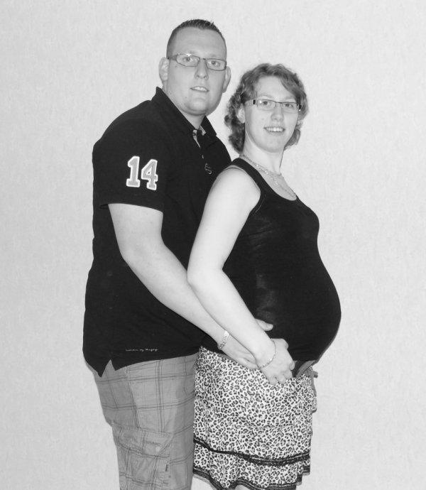 Dimanche 16 juin 2013 : 17 mois d'amour et 33 semaines de grossesse