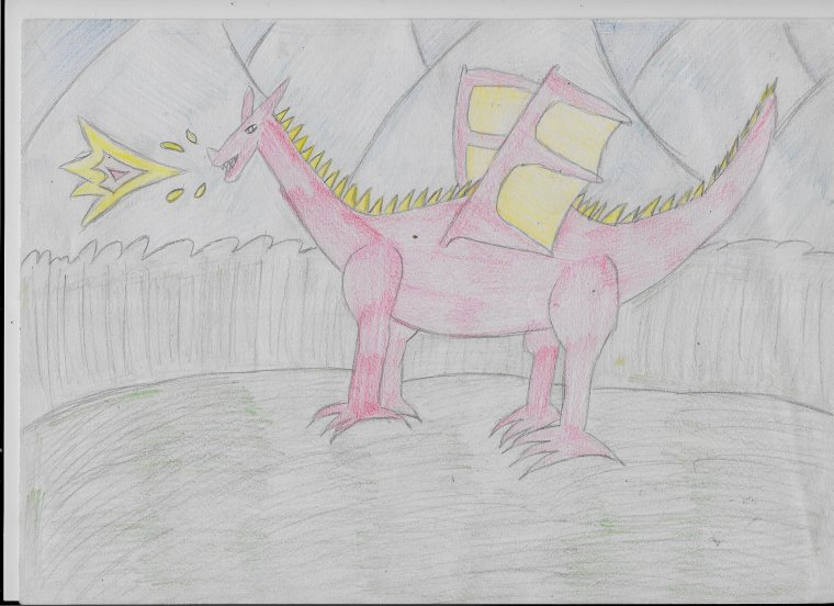 Créatures magiques - partie 1 (premiers dessins)