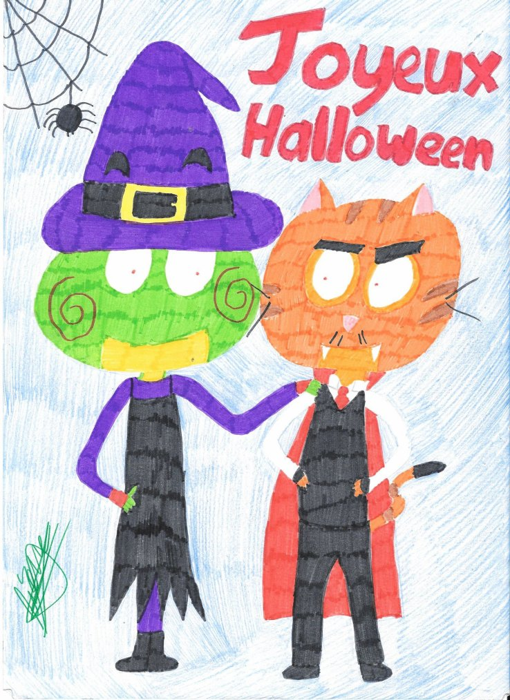 Dessinez-moi ... #4 : Halloween